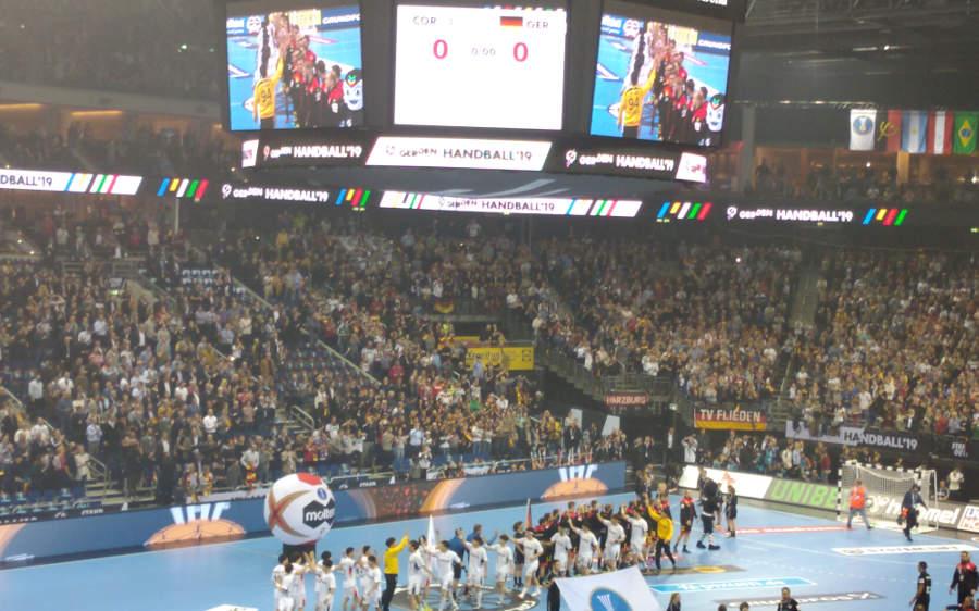 Handball WC 2019 Germany vs. Korea