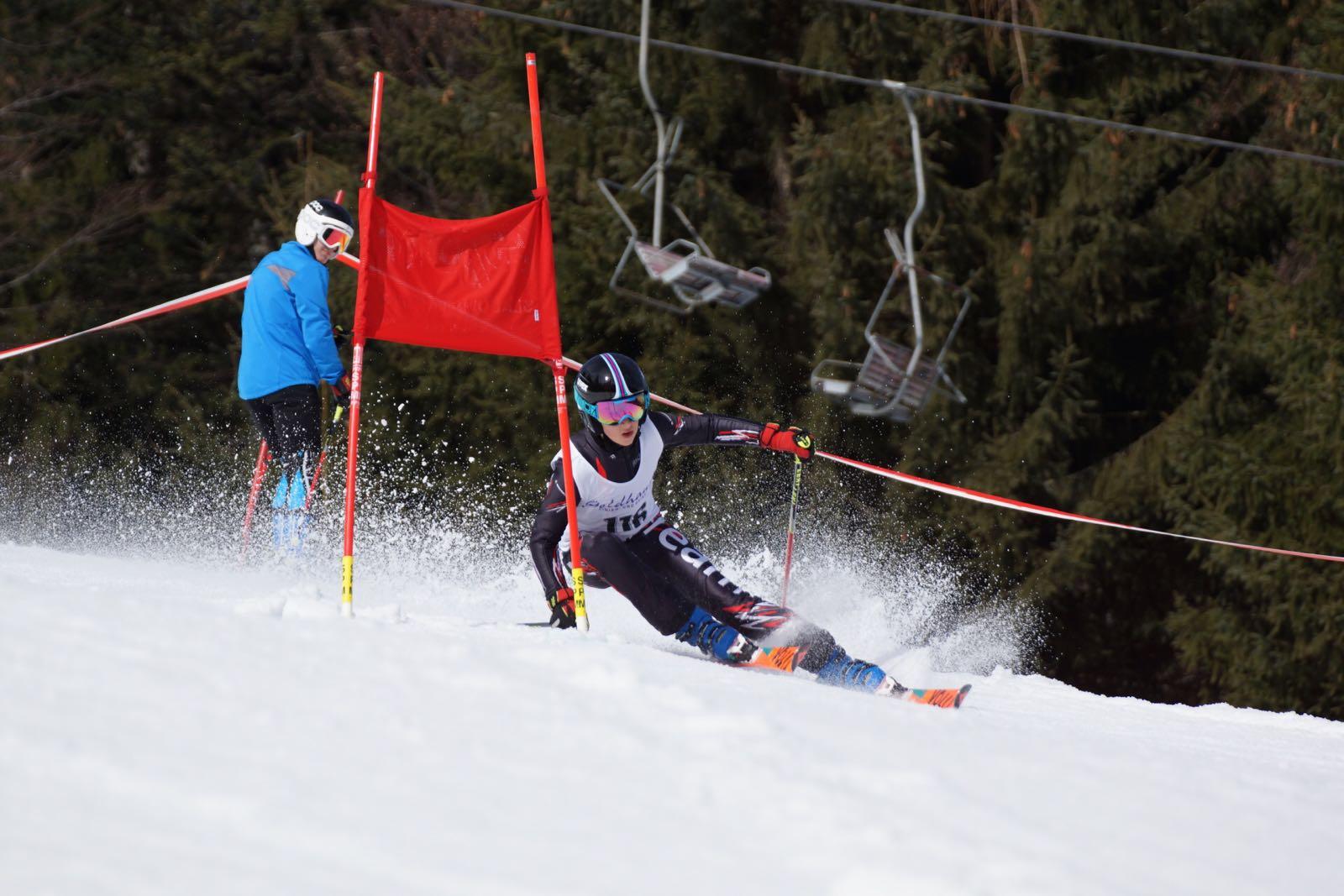Giant slalom training